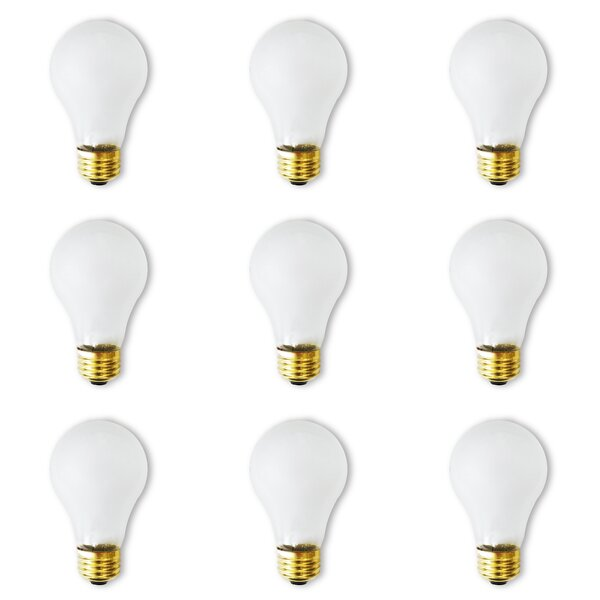 100W E26 Dimmable Incandescent Light Bulb (Set of 12) by Bulbrite Industries