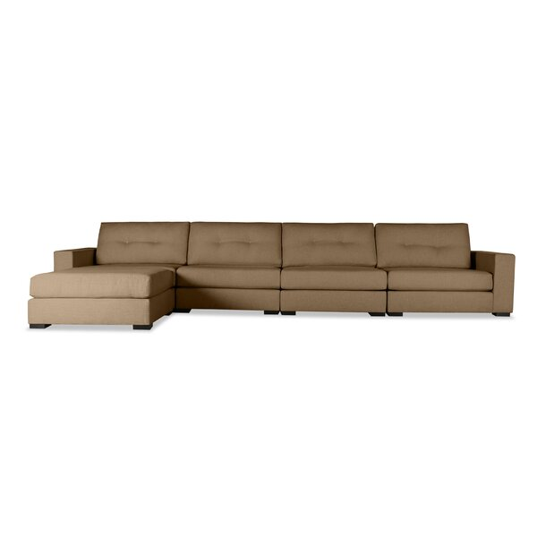 Brose Plush Deep Modular Sectional with Ottoman by Brayden Studio