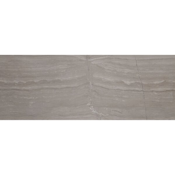 Oxford 3 x 8 Limestone Wood Look Tile in Chenille White by Itona Tile
