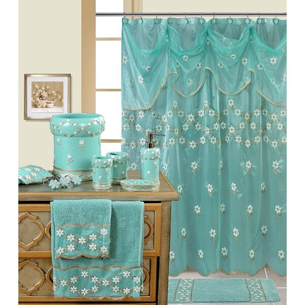 Decorative Shower Curtain By Daniels Bath.