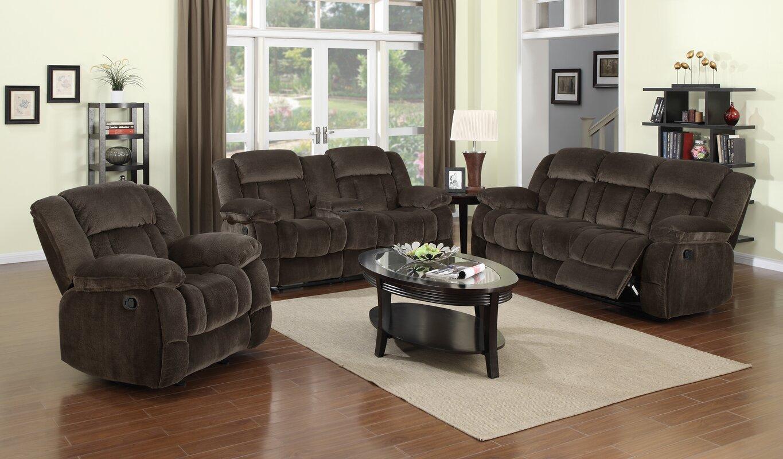 Teddy Bear 3 Piece Living Room Set