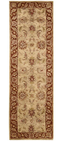 Delaware Hand-Tufted Beige Area Rug by Darby Home Co