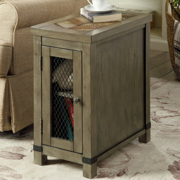 Mccormick End Table with Storage by 17 Stories