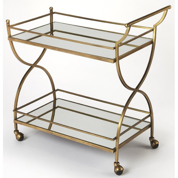 Justine Bar Cart by Langley Street