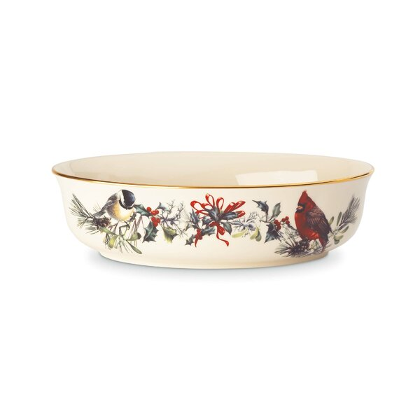 Winter Greetings Open Vegetable Bowl by Lenox