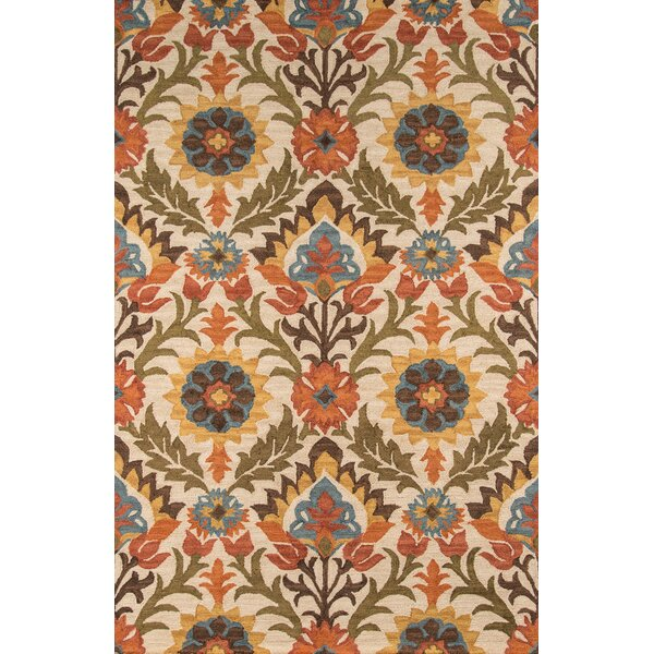 Shah Hand-Tufted Gold Area Rug by Bungalow Rose