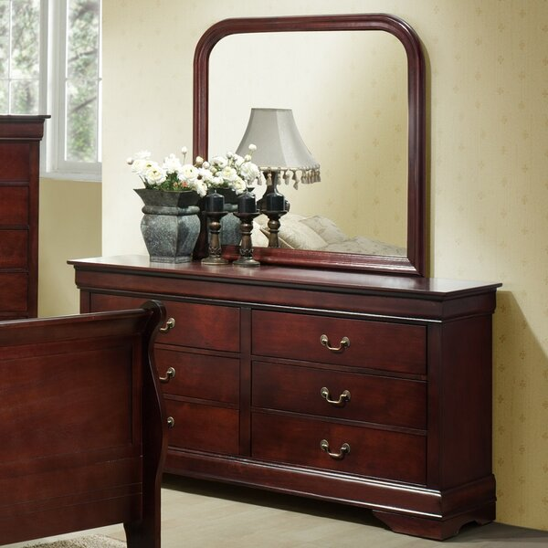 Braiden 6 Drawers Double Dresser with Mirror by Charlton Home Charlton Home