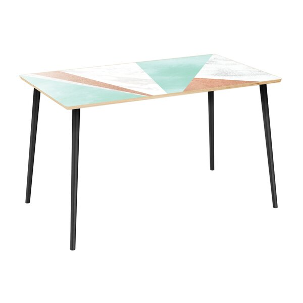 #2 Hageman Dining Table By Wrought Studio Great price