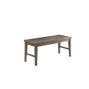 Glenwood Pines Wood Bench by Vilo Home Inc.