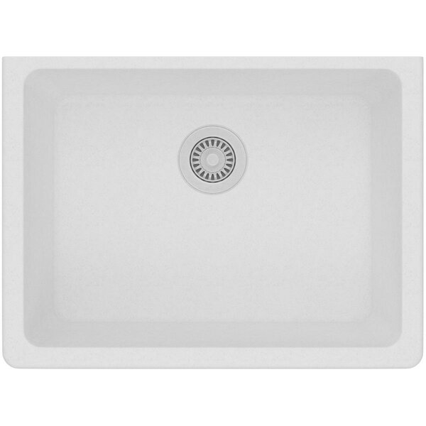 Quartz Classic 25 L x 19 W Undermount Kitchen Sink by Elkay
