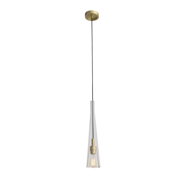 Hedgesville 1-Light Cone Pendant by Brayden Studio