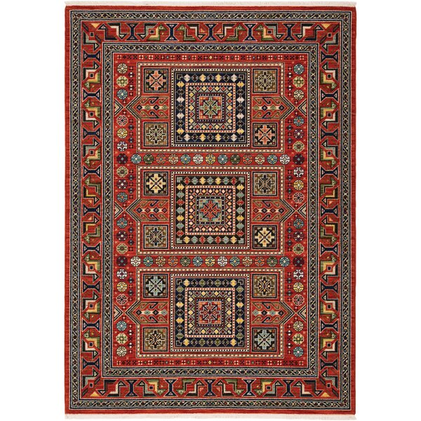 Huntleigh Southwestern Red Area Rug