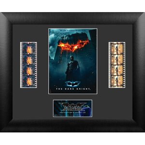 Batman The Dark Knight Double FilmCell Presentation Framed Vintage Advertisement by Trend Setters