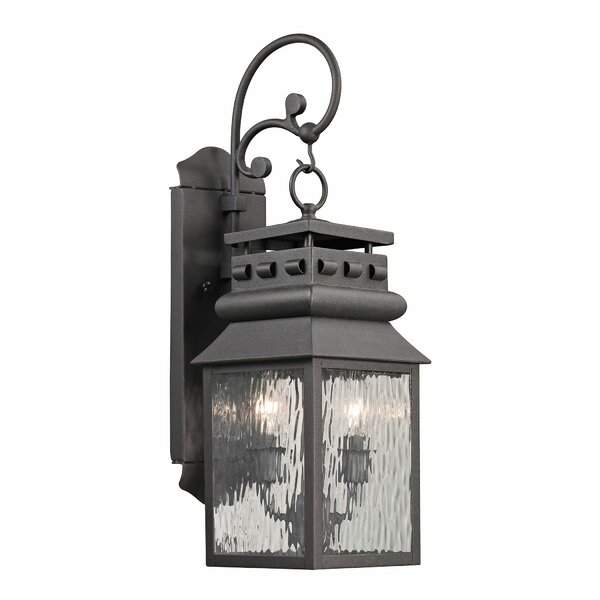 Crepeau 2-Light Outdoor Wall Lantern by Bloomsbury Market