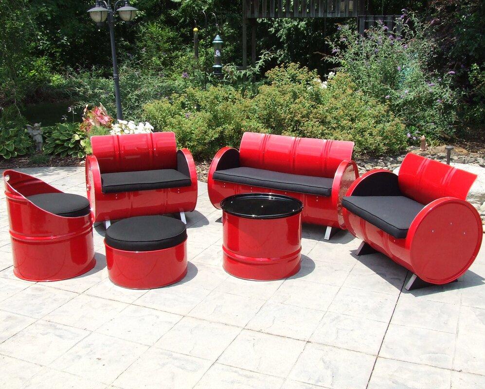 Loft 6-Piece Sunbrella Sofa Set with Cushions