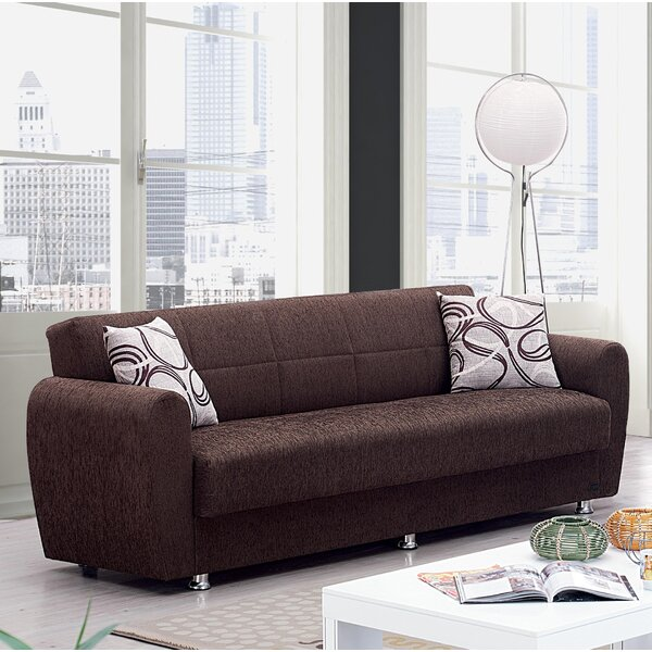 New High-quality Yatton Convertible Sofa by Winston Porter by Winston Porter