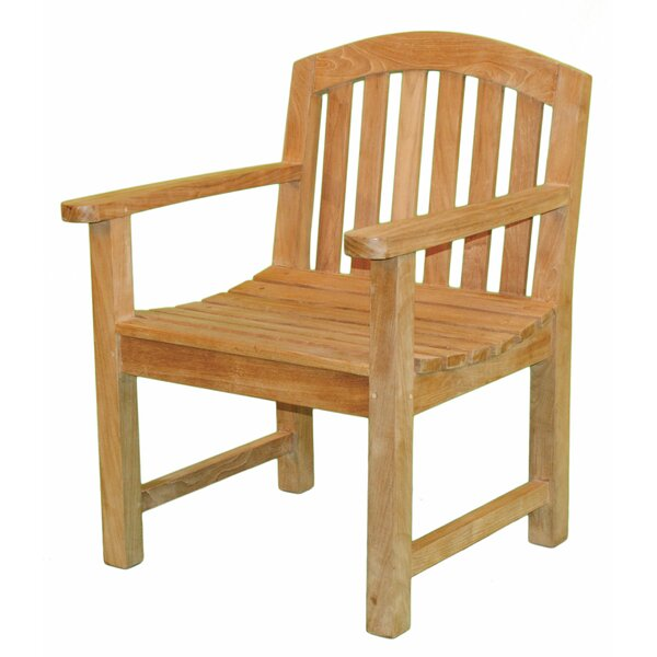 Fanback Teak Patio Chair by Jewels of Java