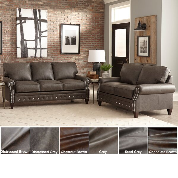 Jacey 2 Piece Leather Living Room Set By 17 Stories Read Reviews