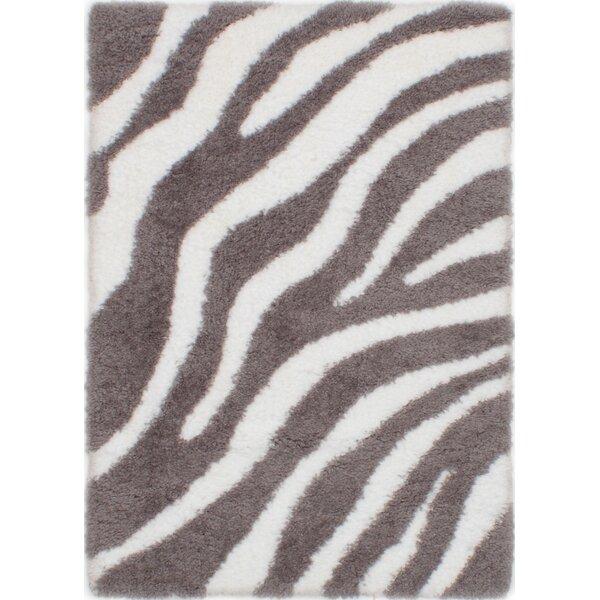 Partin Cream/Dark Gray Area Rug by Bloomsbury Market