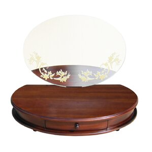 Maya Table Top Vanity with Mirror by D-Art Collection