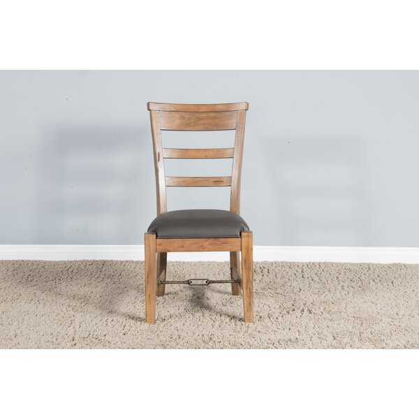 Broome Solid Wood Dining Chair by Loon Peak