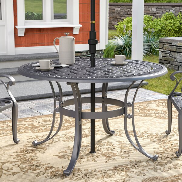 Van Glider Dining Table by Astoria Grand