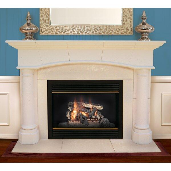 Jefferson Fireplace Mantel Surround By Americast Architectural Stone