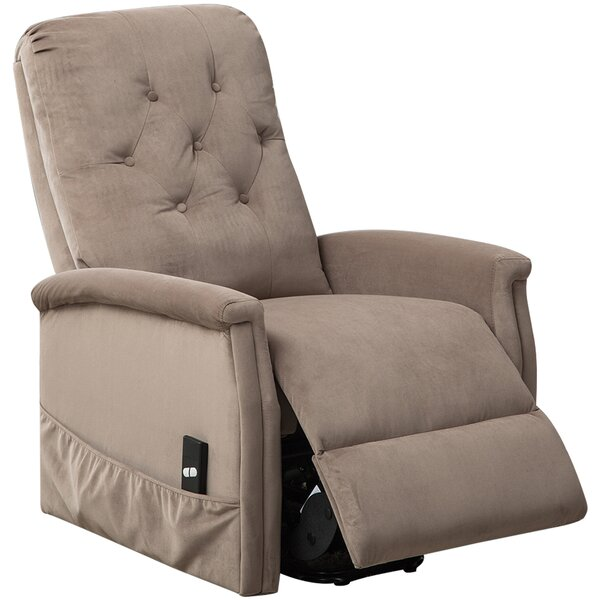 Fort Hamilton Tufted Power Lift Recliner by Red Ba