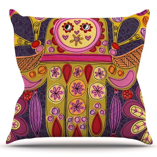 Indian Jewelry by Jane Smith Outdoor Throw Pillow by East Urban Home