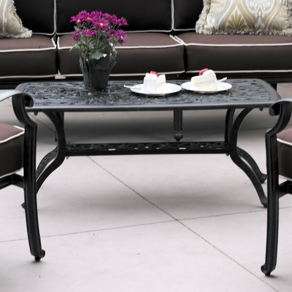 Fairmont Metal Coffee Table By Astoria Grand