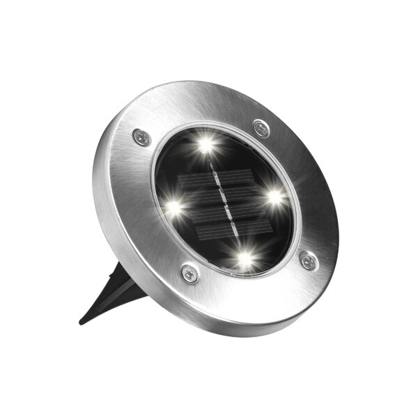 Solar Powered Step Light (set Of 8) By Bell + Howell.
