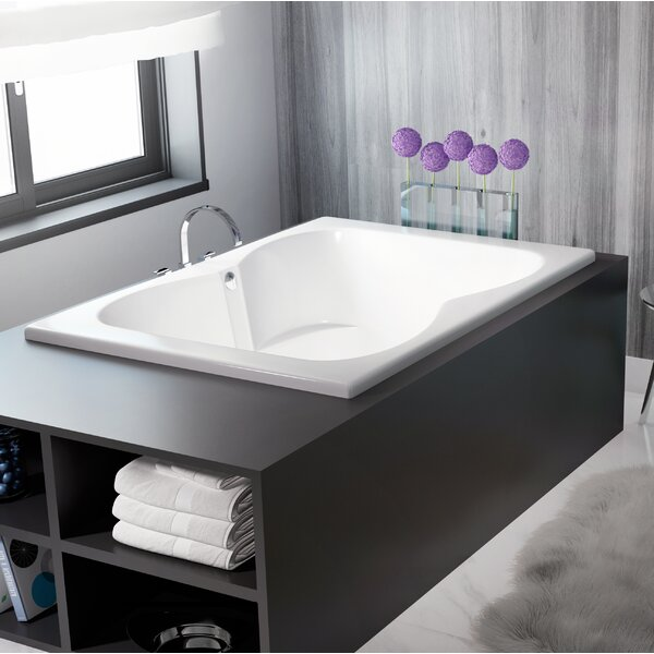 Mito 72 x 42 Drop In Air Bathtub by Jacuzzi®