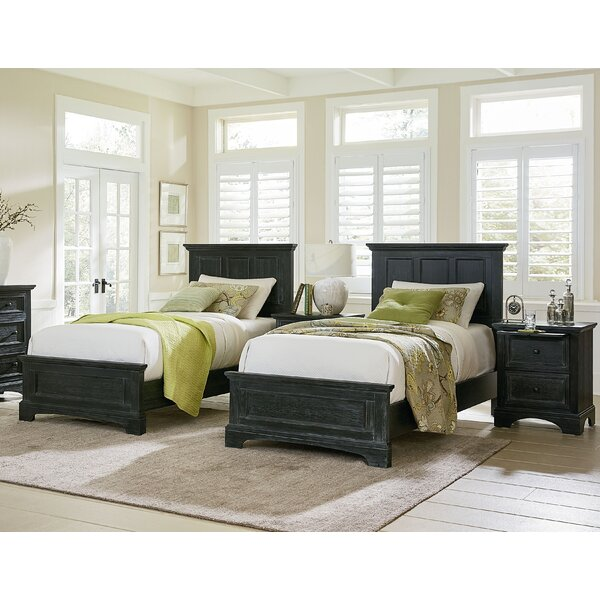 Farmhouse Twin Standard 4 Piece Bedroom Set by Inspired by Bassett
