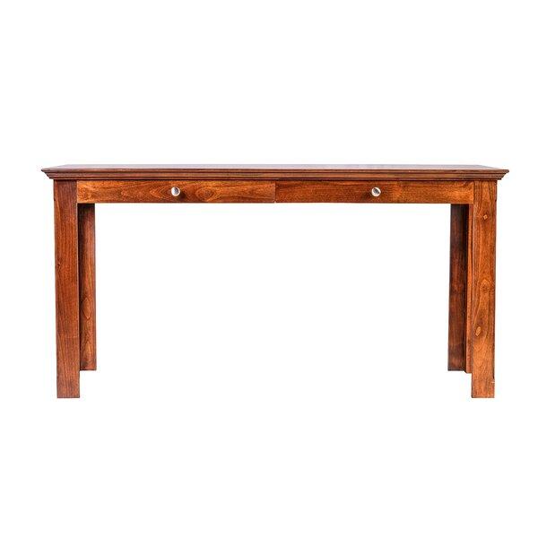 Mcgill 54 W Knob Drawer Writing Desk by Loon Peak