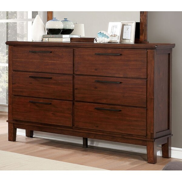 Crissyfield 6 Drawer Double Dresser by Union Rustic