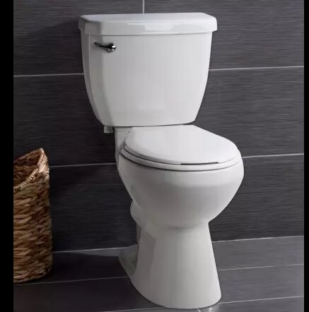 High Efficiency 1.28 GPF Round Two-Piece Toilet by Miseno