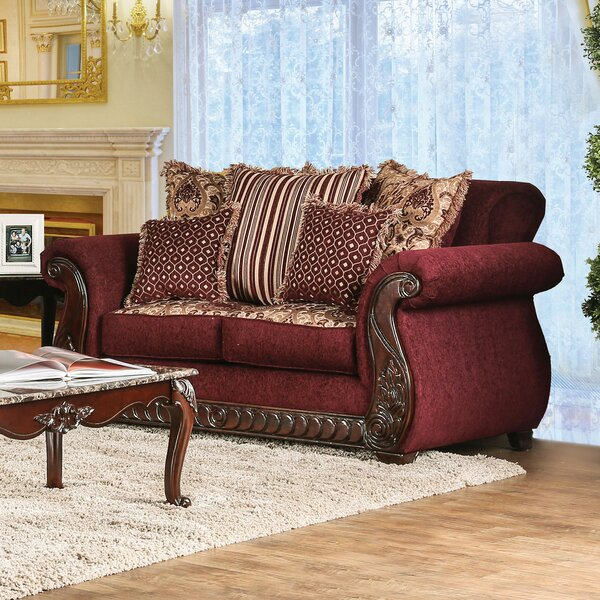 Juno Chesterfield Loveseat By Astoria Grand