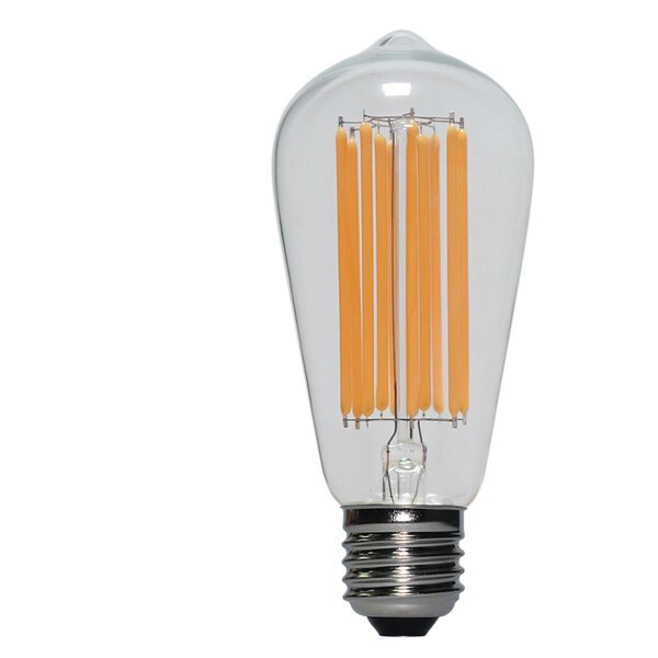 10W E26/Medium (Standard) LED Vintage Filament Light Bulb by Eurus Home