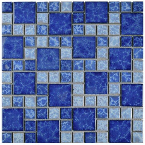 2 x 2 Porcelain Mosaic Tile in Adriatic by EliteTile