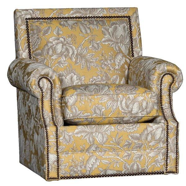 Huckabee Swivel Armchair By Bloomsbury Market