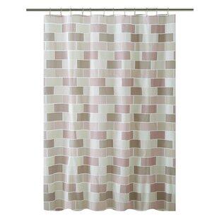 PEVA Tile Design Shower Curtain