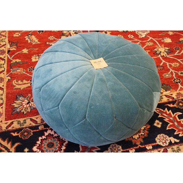 Emerald Pouf by Home & Manor