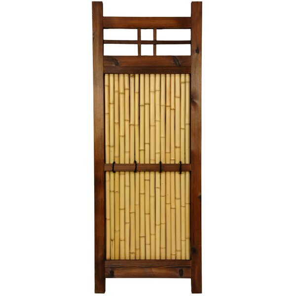4 ft. H x 1.5 ft. W Japanese Kumo Fence Panel by Oriental Furniture