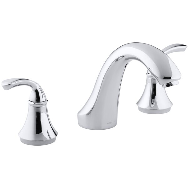Forté Sculpted Deck-Mount Bath Faucet Trim for High-Flow Valve, Valve Not Included by Kohler
