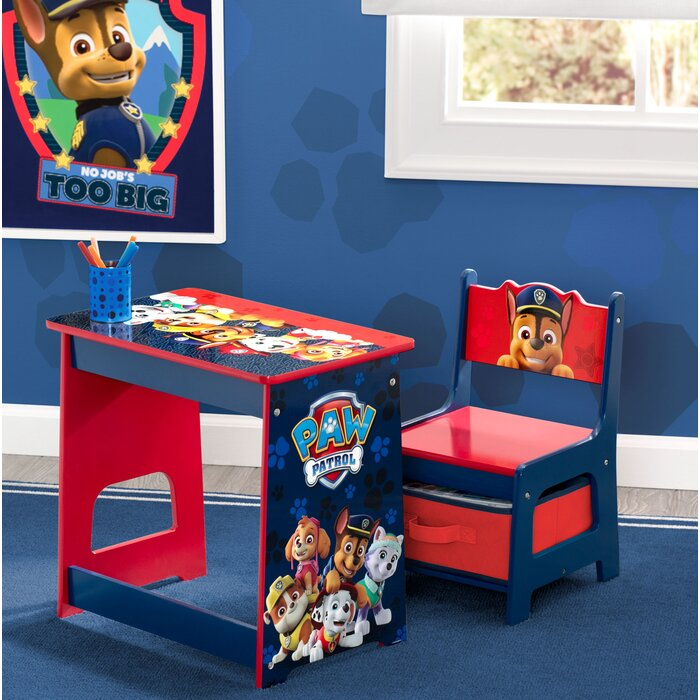 Cool Nick Jr Paw Patrol Kids 2 Piece Activity Table And Chair Set Creativecarmelina Interior Chair Design Creativecarmelinacom