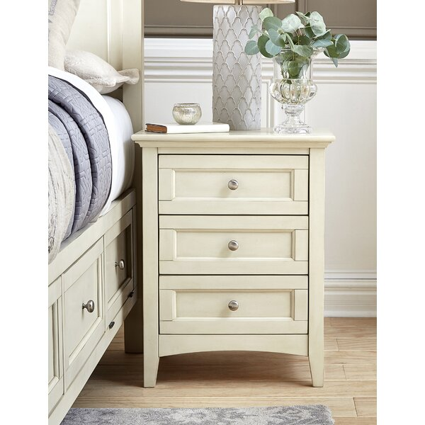 Burris 3 Drawer Nightstand by Alcott Hill