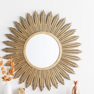 9d2f13d60d8c Aged Gold Wall Décor Wall Mirror