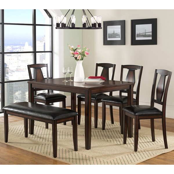 Sedona 6 Piece Dining Set by Vilo Home Inc. Vilo Home Inc.