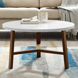 Josiah Round Coffee Table by Ebern Designs