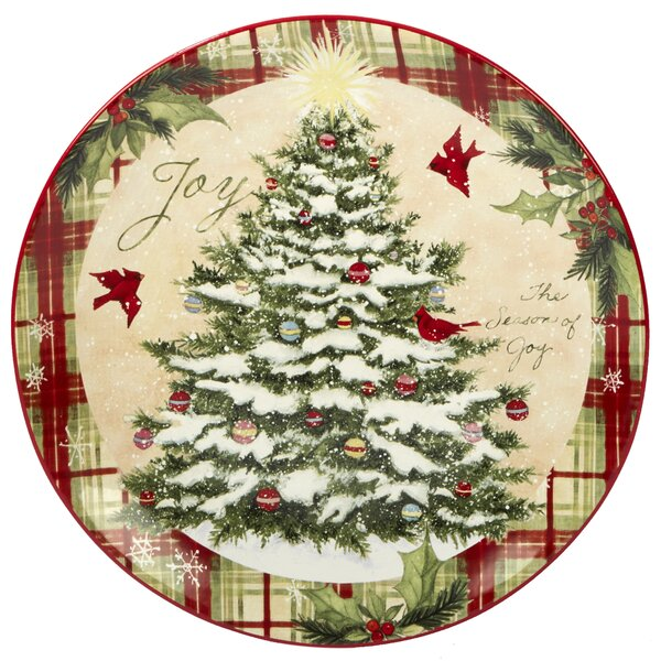 Gianna Round Platter by The Holiday Aisle